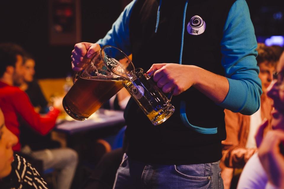 Drinkologija Kraft piva 2019 - točenje piva